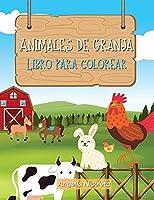 Animales de granja Libro para colorear: para niños de 3 a 8 años
