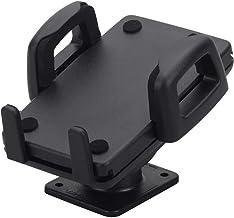 hr-imotin Universal självhäftande/skruvbar smartphonehållare för enheter med mått från 42 - 78 mm - 22410001 - svart