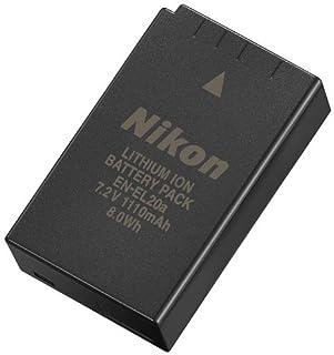 Nikon EN-EL20a - Batería/Pila Recargable (1110 mAh, Cámara Digital, Iones de Litio) Negro (B00IZEY11M) | Amazon price tracker / tracking, Amazon price history charts, Amazon price watches, Amazon price drop alerts
