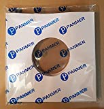 Pack of 50 - 7' White Paper Record Sleeves