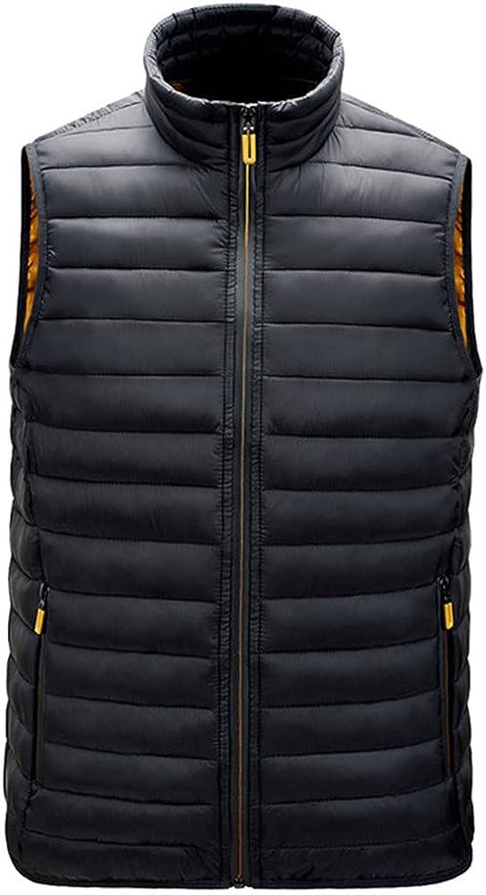 Men's Vest Collar Waistcoat Outside Thin Soft Outdoor Windproof