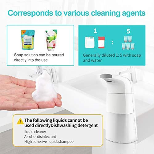 TOPERSUN Dispensadores de loción y de jabón