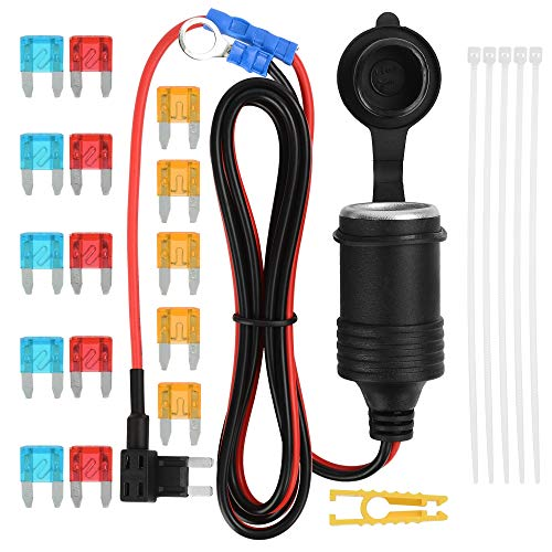 Cable:19.6in Jtron Car DIY Switches Water Drop Shape Button Switches OFF//ON DC 12V For Fog Lights,DRL,LED Light Bar,etc