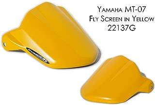 Yamaha MT07 / FZ07 Fly Screen: Yellow 22137G