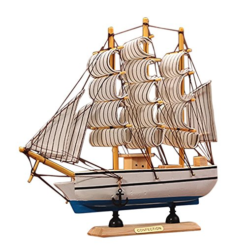 Kangkang@ Wooden Ship Model Miniatur Marine Wood Maritime