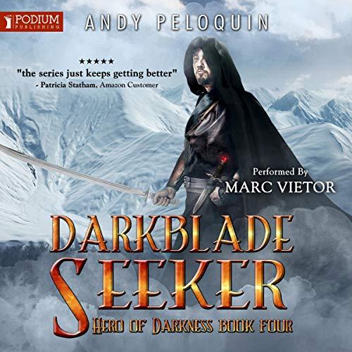 Darkblade Seeker audiobook cover art