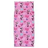 Disney Minnie Mouse Preschool Nap Pad Sheet, Pink, 19' x 44'