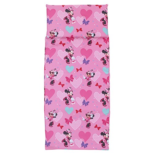 "Disney Minnie Mouse Preschool Nap Pad Sheet, Pink, 19"" x 44"""
