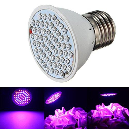HVTKL 4W E27 60 LED groeien helder binnenrood + blauwe hydrocultuur planten Veg-lamp HVTKL
