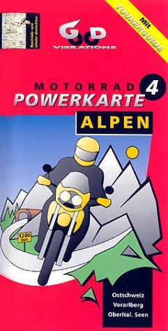 Motorrad-Powerkarte Alpen - Box / Die Basiskarten für Motorradfahrer. Mit Tourerguide: Unterkünfte, Treffs, Tipps. 1:300000: Motorrad Powerkarten ... Ostschweiz, Vorarlberg, Oberitalienische Seen