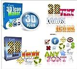 Trend Easy 3D ICON Paket V1 + V2 - Logo + Text- Maker -