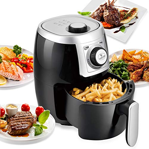 Culinary Edge 2.1QT Compact Electric Small Air Fryer + Oven Cooker