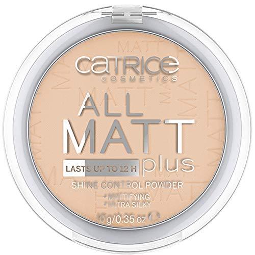 Catrice All Matt Plus Shine Control Powder 028 Honey Beige - 3er Pack