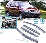 Yuting Winddeflektoren Autofenster Zubehör for Honda CR-V CRV 2002 2003 2004 2005 2006 Rain Guard...