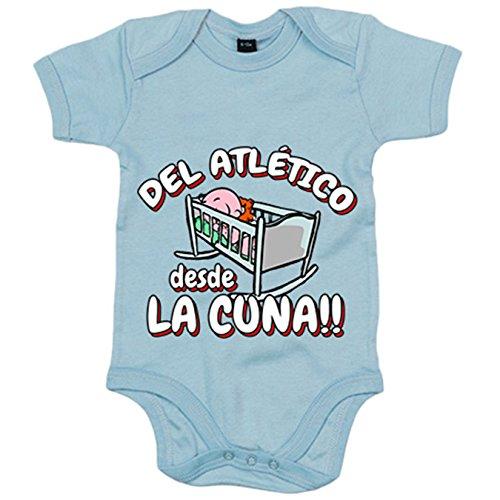 Body bebé Del Atlético desde la cuna fútbol - Rojo, 6-12 meses