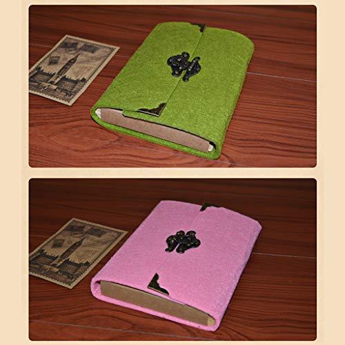 Agoble Kissenbezug für Seitenschläferkissen, Kissenbezug mit Spruch Polyester 1 Stück 30X50cm Kissenbezug Pink Lila Blumendrucke