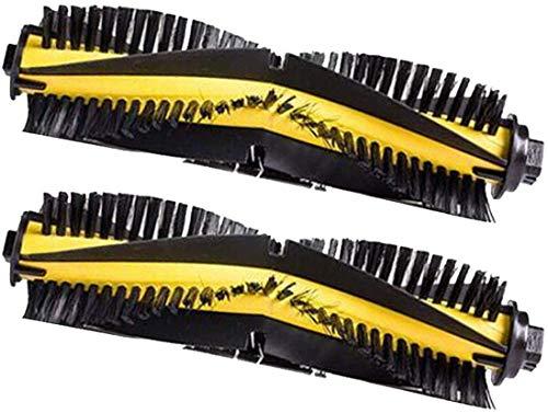 De Galen Piezas de repuesto 20 unidades de cepillos laterales de filtro de repuesto para ILIFE V3s V3 V5 V5s Pro Robotic Aspiradora Accesorios (color: 2 cepillos principales)