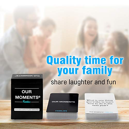 OUR MOMENTS Familles: 100 Questions...