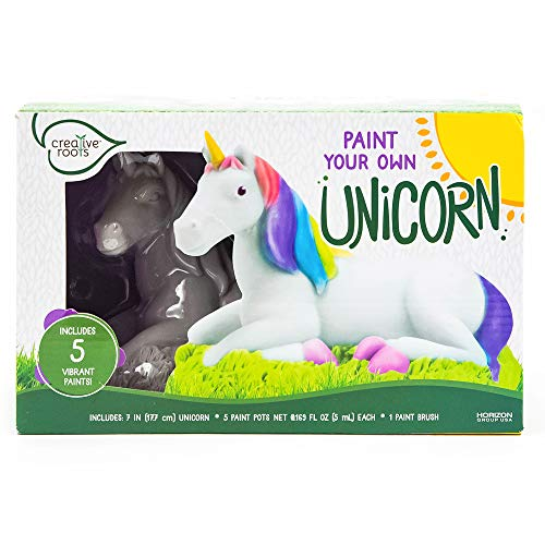 Creative Roots Paint Your Own Unicorn Horizon Group USA, Multicolor, One Size