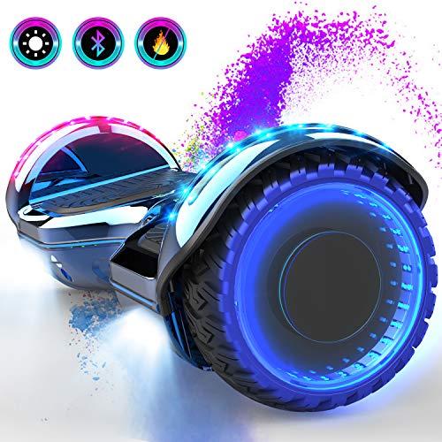 GEEKME scooter auto bilanciamento Scooter elettrico da 6,5 '' per adulti Bambini-UL2272...