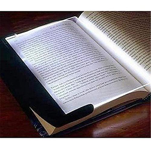 XIAOLE Lampada LED Cuneo Pannello per Viaggiare Lettura Libro in Auto e Letto Brossura Notte Luce