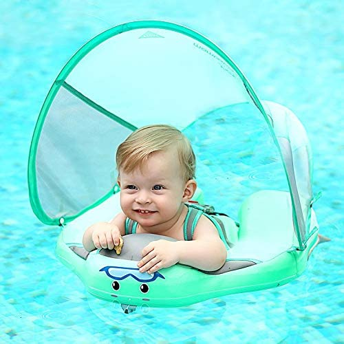 Baby Pool Float Swim Sol Non-Inflatable Luxury goods with Ranking TOP8 Canopy