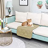SUNNYTEX Waterproof & Reversible Dog Bed Cover Pet Blanket Sofa, Couch Cover Mattress Protector Furniture Protector for Dog, Pet, Cat(30' 30',Beige+Sand)