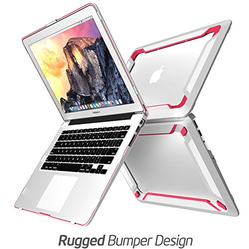 NexCase MacBook Air 13 Inch Case (A1369/A1466, Older Version 2010-2017 Release), [Heavy Duty] [Dual Layer] Hard Case for Apple MacBook Air 13 Inch