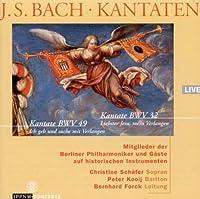 バッハ:カンタータ「最愛なるイエスよ、わが憧れよ」 BWV.32 [Import] (J. S. BACH ・ KANTATEN, Kantate BWV 32: Liebster Jesu, mein Verlangen, Kantate BWV 49: Ich geh und suche mit Verlangen )