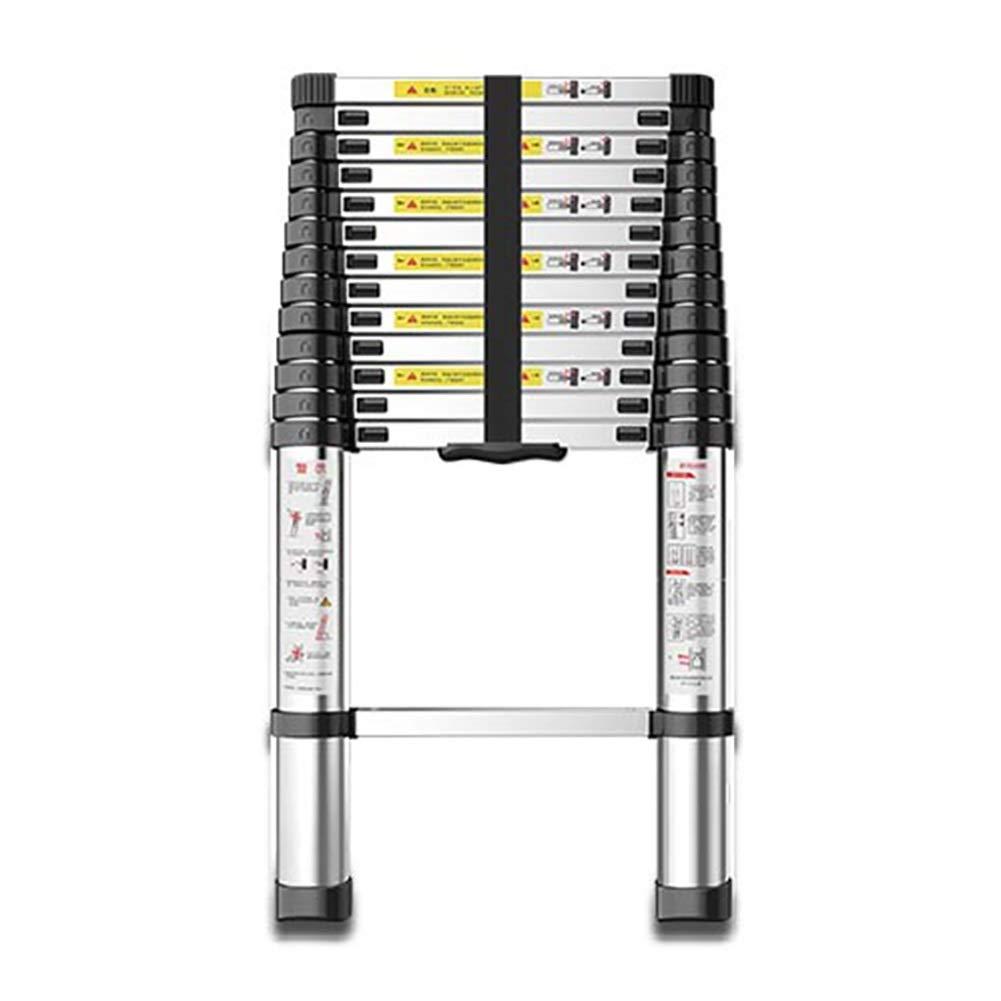 LADDER Escaleras Telescópicas, Escaleras Telescópicas de Aluminio Profesionales para Ingeniería, Escalera Telescópica Plegable Multipropósito, Capacidad de 330 lb,6,1 m / 20 pies: Amazon.es: Bricolaje y herramientas
