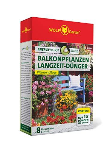 WOLF-Garten - Energy Depot Balkon-Langzeitdünger ED-BK 0,81 (für ca. 8 Blumenkästen/Jahr); 3876005