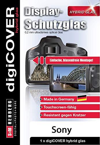 digiCOVER Hybrid Glas Displayschutz Sony Alpha 6000/ 6100 / 6300 / 6400  /6500 /6600