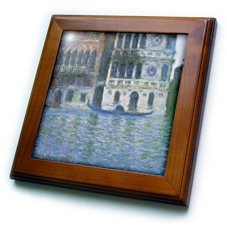3dRose FT 164638_ 1The Palazzo Dario Vintage Monet von Fliesen, 8von 20,3cm
