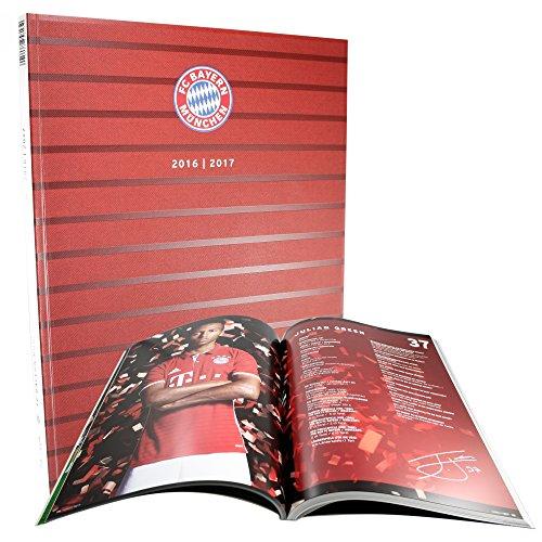 FC Bayern München Jahrbuch / Buch / Chronik 2016/17 FCB - plus gratis Aufkleber forever München