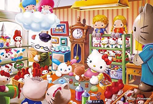 Tienda de Gatos de Dibujos Animados 1000 Piezas Puzzle Juego de Rompecabezas Rompecabezas para niñosAdultos Puzzle Animal paisajes Clásico Puzzle Navidad Halloween Juegos Puzzle Juguete Divertido