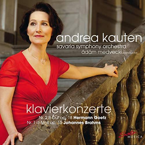 Goetz: Piano Concerto No. 2 & Brahms: Piano Concerto No. 1