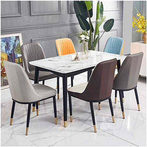 Hotel Suite Furniture Kitchen Dinette Chairs The Nordic Fashion Glass Light Luxury Modern Home Desktop Balcony Garden Apartment Living Room Small Apartment 4 People 6 People Cafeteria Table And Hotel