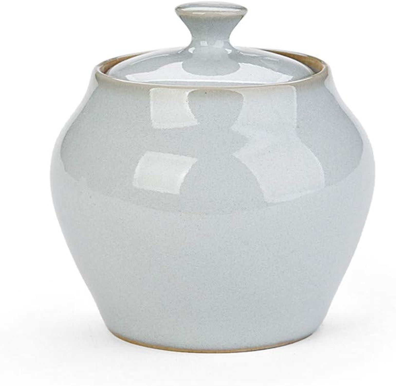 Hehh Tuoba Fish Boîte à Thé, Pots en Céramiquethé, Boîtes Scellées, Services à Thé,B