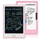 """NEWYES 10 """" Tableta de Escritura LCD y Pizarra Blanca 2 en 1 - Tablets de Dibujo con Pantalla LCD, Pizarra portátil (Rosa)"""