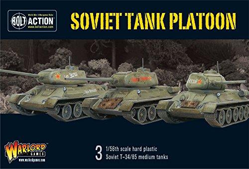 Peloton char soviétique - l'échelle 1 / 56e