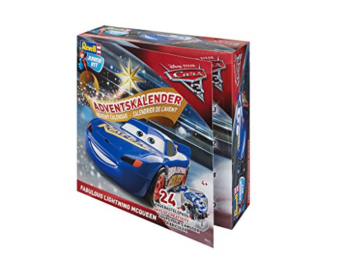 Revell Junior Kit Adventskalender Fabulous Lightning McQueen von Disney Cars 3 - 01012