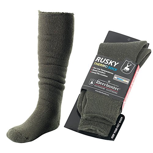 Deerhunter Rusky Thermo Socken - 53 cm Gr. 36-39