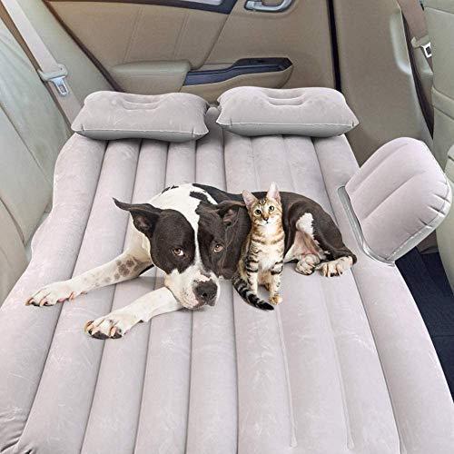 Car Mattress Air Bed, Outdoor Camping Car Air Mattress Back Seat, Quick...