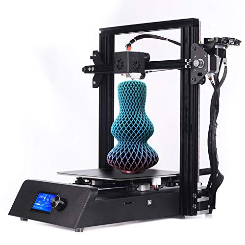 LHSJY-DP 3D Printer, Large Metal 3D Printer Self-Assembly 0.4Mm Nozzle Resume Printing Function Touchscreen Filament Detection Print Size 220 * 220 * 250Mm