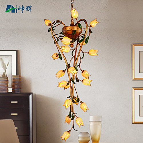 Quietness @ Ciondolo illuminazione LED moderno lampadario industrie creative Loft lampadario per sala da pranzo Camera da letto Soggiorno magazzino 8633CH21b