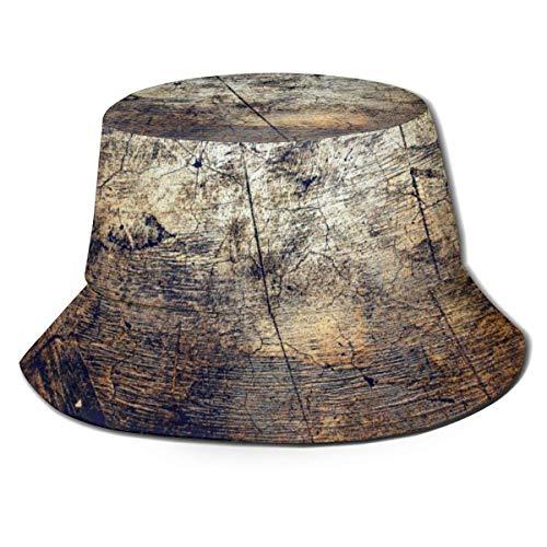 Bucket Hats Fondo de Textura Casual Summer Travel Bucket para protección UV