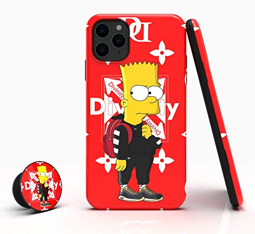 Divinity Hypebeast Blink Designed Case for iPhone11 Pro Max [Shock-Absorbing] [Scratch-Resistant] [Military Grade Protection] Hard PC + Flexible TPU Frame Cover for [ Apple iPhone 11 Pro Max | 6.5'' ]