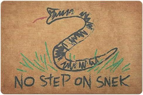No step on snek doormat