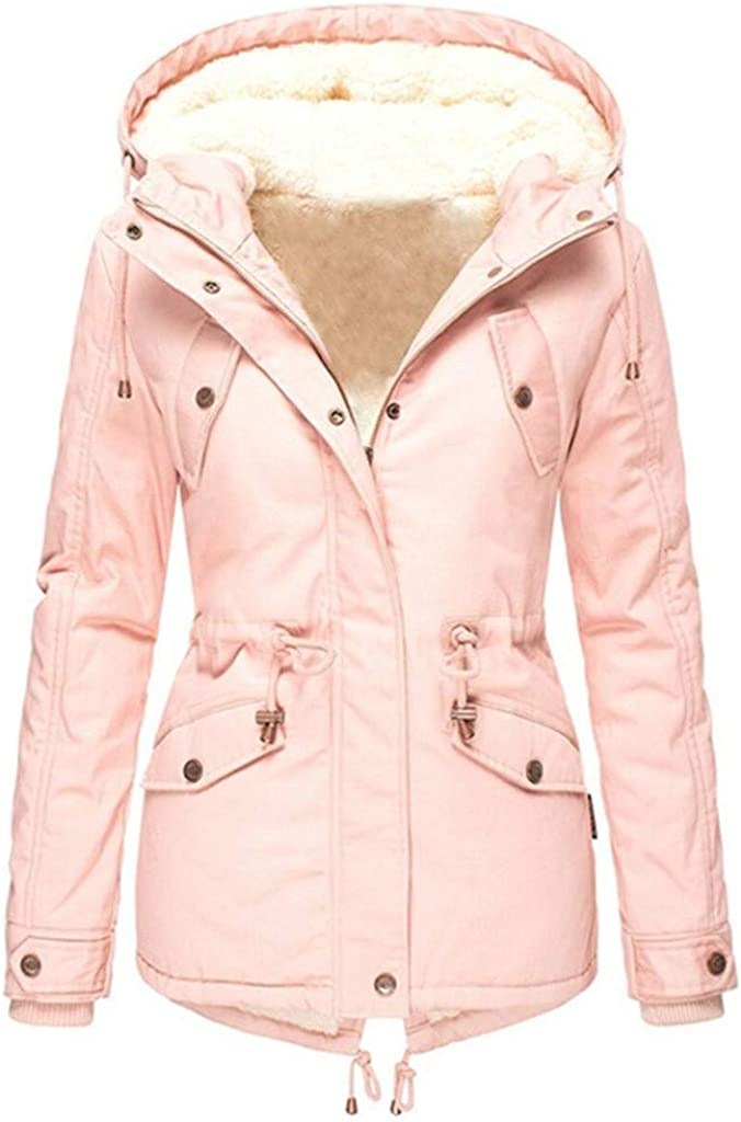 Women Zipper Raincoat Purchase Hooded Windproof Limited time sale Outdoor Fleece Act Jacket