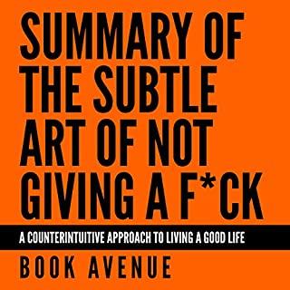 Summary of The Subtle Art of Not Giving a F*ck cover art